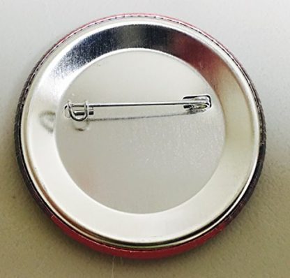 back of single button silver
