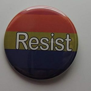 rainbow resist button