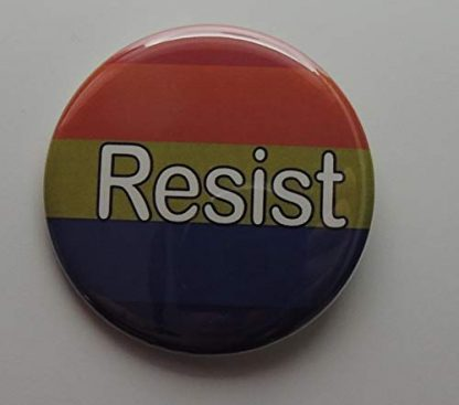 rainbow resist button