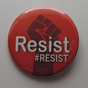 Red resist button