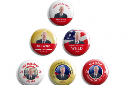 Bill Weld for President - Set of 6
