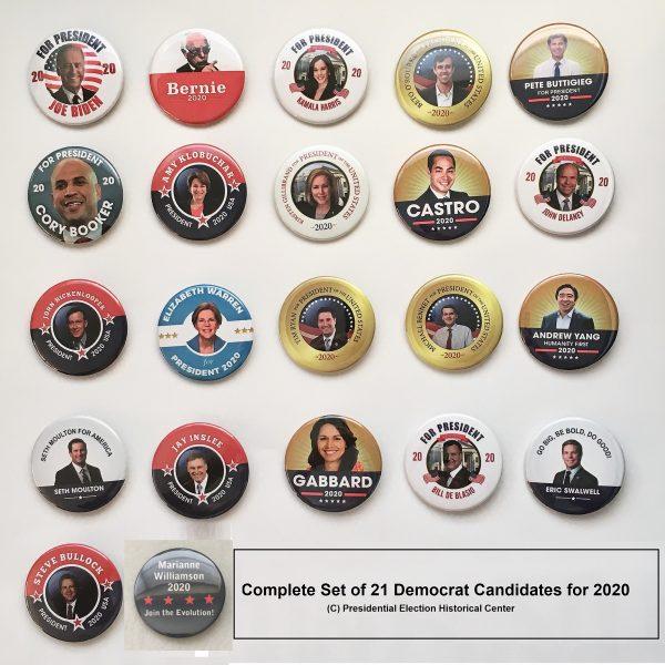 Democrat Set of 21