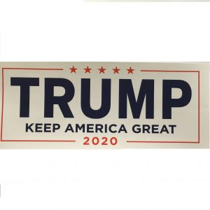 White Keep American Great Sticker