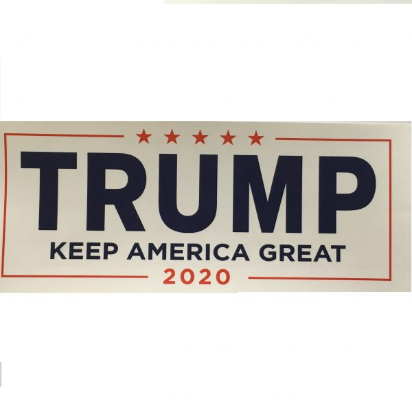 White Keep American Great Sticker