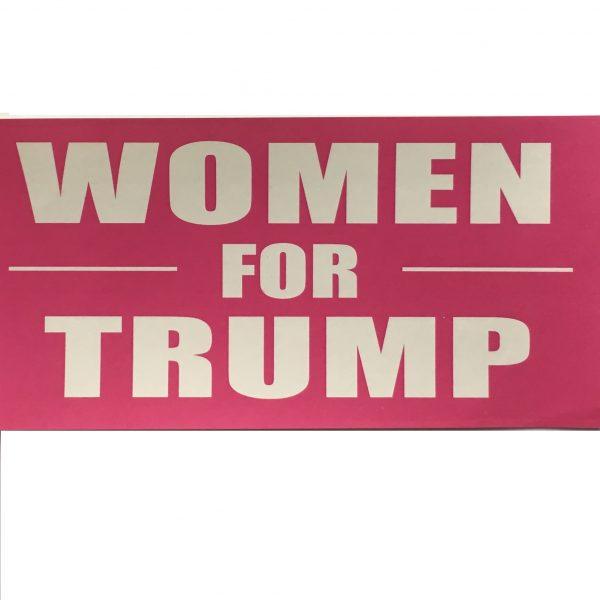 Women For Trump Sticker
