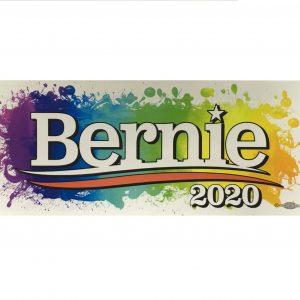 Bernie Rainbow Stickers