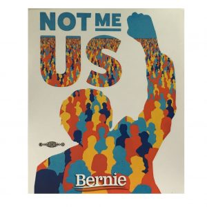 Bernie Not Me Us Sticker