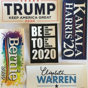 2020 Bumper Stickers