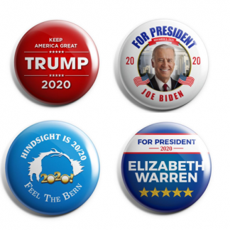 2020 Campaign Buttons