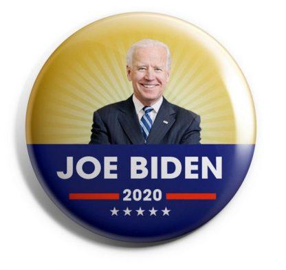 Joe Biden 2020 campaign buttons
