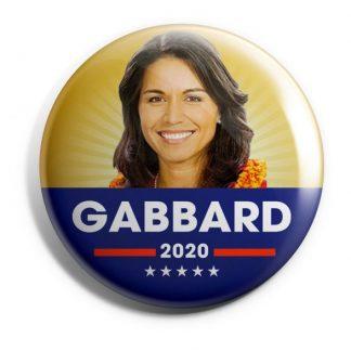 Tulsi Gabbard for President Campaign Button (GABBARD-704)