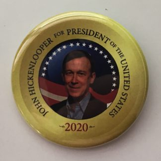 Hickenlooper 2020 pins