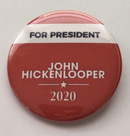 John Hickenlooper Campaign pins