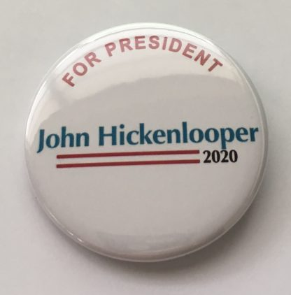 John Hickenlooper Campaign Buttons