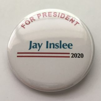 Jay Inslee 2020 pins