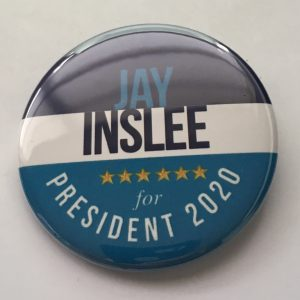 Jay Inslee campaign pins