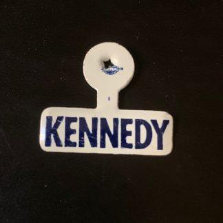 1960 John F. Kennedy Campaign Lapel Tab Pin