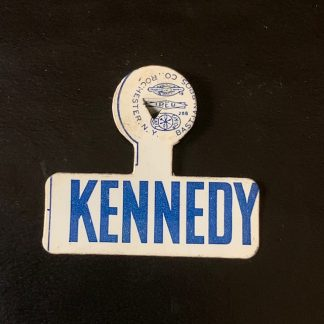 1960 John F. Kennedy Campaign Lapel Tab Pin with Union marking
