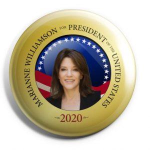 Marianne Williamson Campaign Buttons (WILLIAMSON-701)