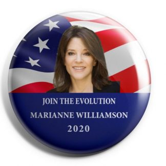 Marianne Williamson 2020 - Join the Evolution Campaign Buttons (WILLIAMSON-705)