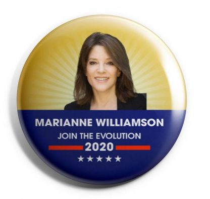 Join the Evolution - Marianne Williamson 2020 Campaign Buttons (WILLIAMSON-706)