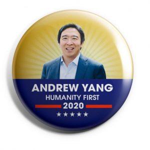 Andrew Yang Campaign Pins