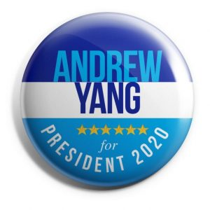 Andrew Yang Campaign Buttons