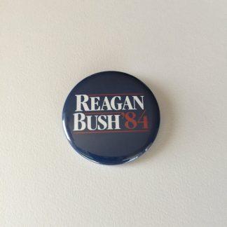reagan-bush '84 pinback