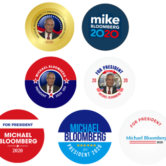Michael Bloomberg set of 7
