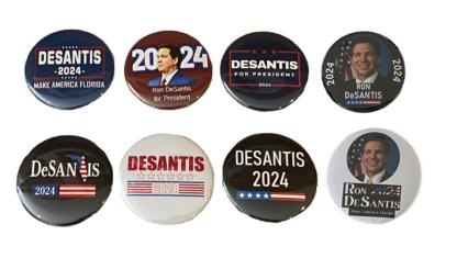 Ron DeSantis 2024 buttons