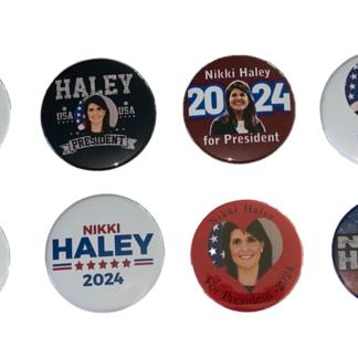 Nikki Haley 2024 buttons