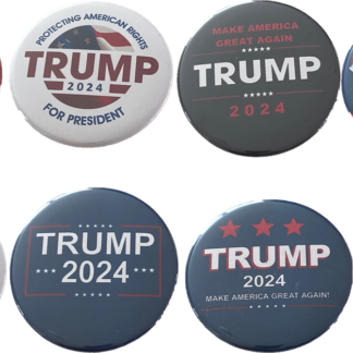 Trump 2024 set of 8 buttons___updated