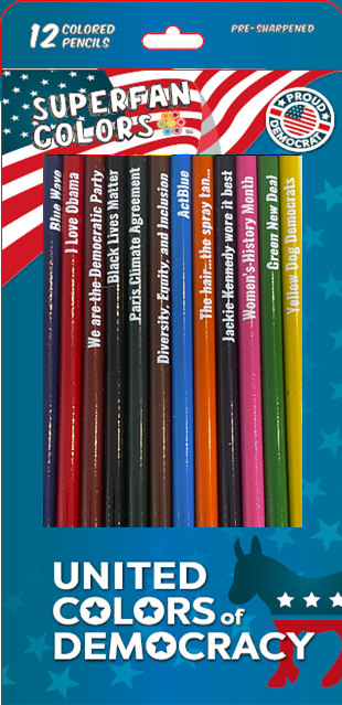 United Colors of Democracy__Democratic Party__front of box with pencils